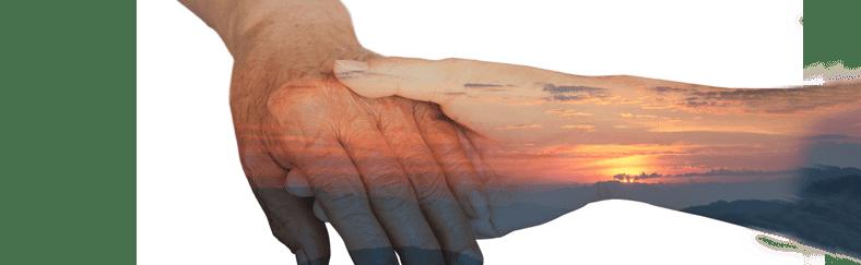 ידיים שלובות עם שחר
